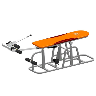 Тренажер инверсионный стол DFC XJ-E-03RL электрический