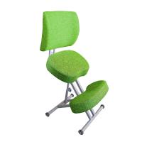 Коленный стул ортопедический Олимп СК 2-2 Лайм со спинкой
