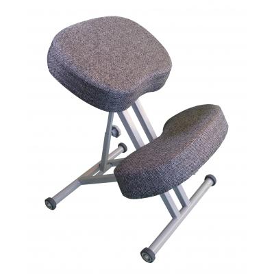 Ортопедический коленный стул Олимп СК 1-2 Антрацит