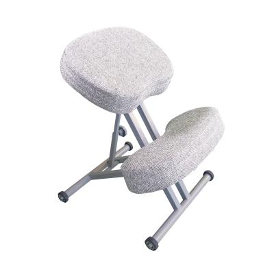 Коленный стул для осанки Олимп СК 1-2 Белой-бежевый