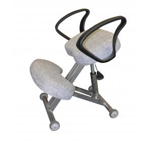 Коленный стул для осанки Олимп СК 4 Титан газлифт