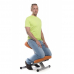 Коленный стул SmartStool KM01L металлический Газлифт