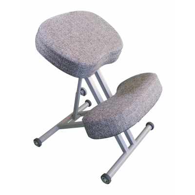 Коленный стул ортопедический Олимп СК 1-2 Светло-серый