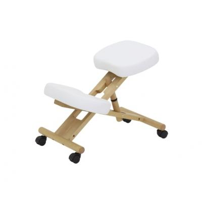Коленный стул для осанки Med-Mos МА-04 Белый