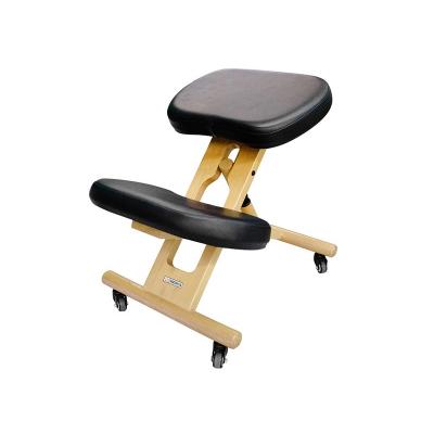 Стул коленный для взрослых US Medica Zero черный деревянный