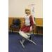 Коленный стул премиальный Олимп СК 2-2-Г газлифт Розовый пони