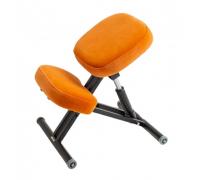 Коленный стул для осанки Ортеко КС-03М газлифт Оранжевый