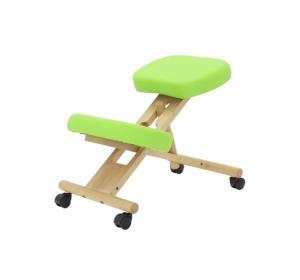 Коленный стул Med-Mos МА-04 Фисташковый деревянный