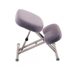 Коленный стул Ортеко КС-04М Фиолетовый ортопедический