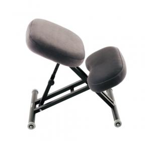 Коленный стул ортопедический Ортеко КС-04М Серый