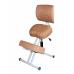 Коленный стул премиальный Олимп СК 2-2-Г газлифт Коричневый