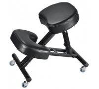 Ортопедический коленный стул Heliox Orto черный