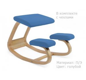 Чехол для стульев SmartStool Balance голубой
