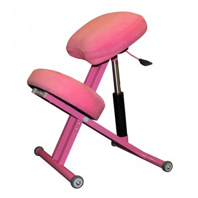 Коленный стул Олимп СК 1-2-Г газлифт Розовый пони