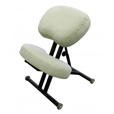 Коленный стул для осанки Олимп СК 1-2 Оливковый