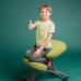 Коленный стул Ортеко КС-03М газлифт Коричневый