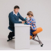 Ортопедический стул для школьника Ортеко КС-04М Зеленый
