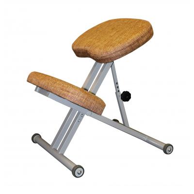Коленный стул для осанки Олимп СК 1 Терракот