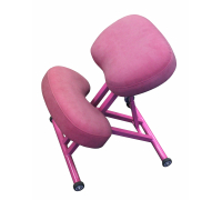Коленный стул ортопедический Олимп СК 1-2 Розовый