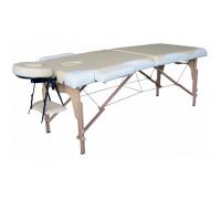 Массажный стол DFC Nirvana Relax Biege/Cream деревянный