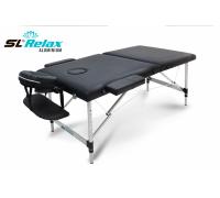 Массажный стол SL Relax складной Aluminium BM2723-1
