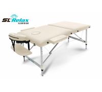 Массажный стол SL Relax складной Aluminium BM2723-2