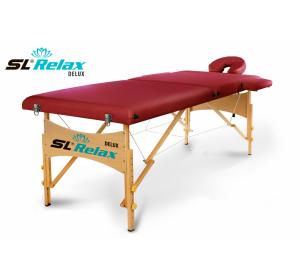 Массажный стол SL Relax складной Delux BM2523-1
