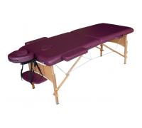 Массажный стол DFC Nirvana Relax Plum раскладной легкий